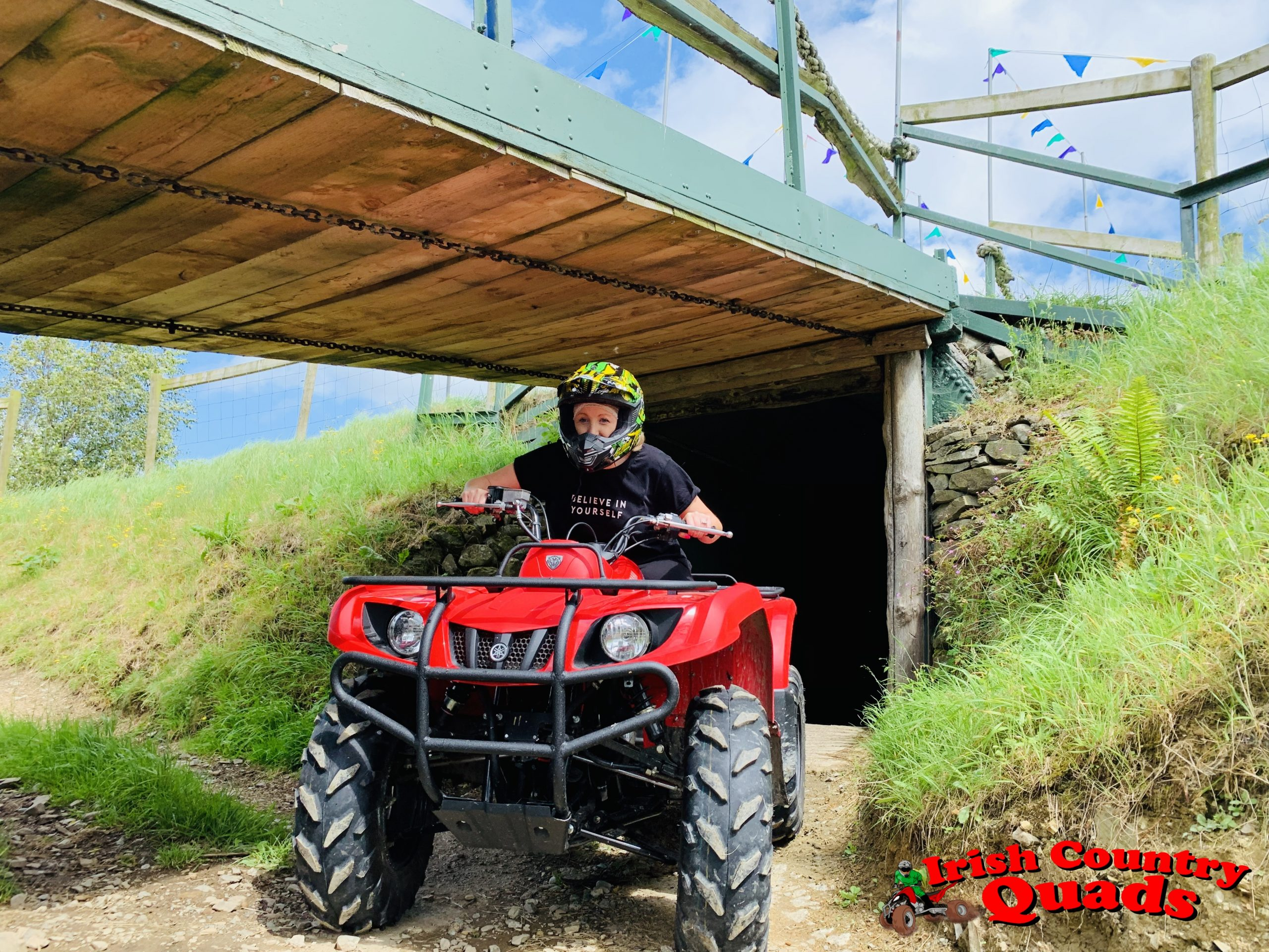 Irish Country Quads Adventure Activities quad bike track trail course bridge tunnel