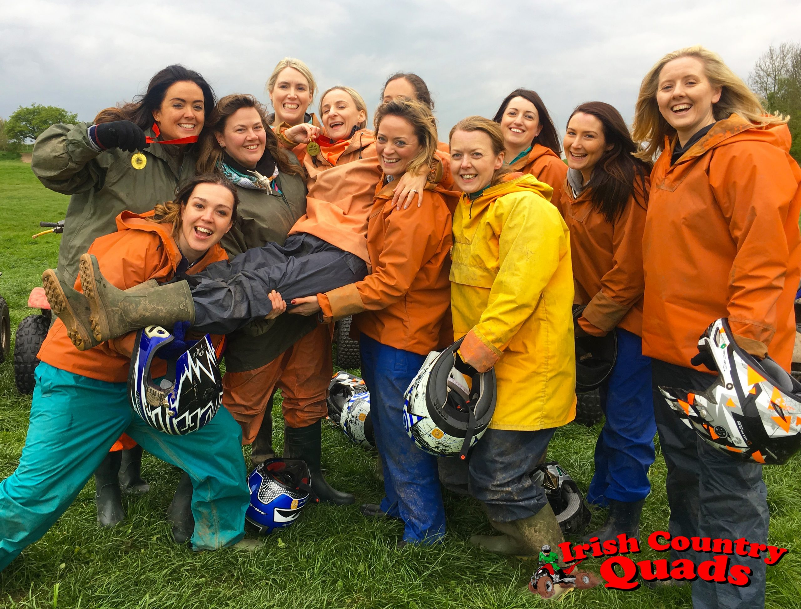 Irish Country Quads Adventure Activities quad bike track trail course hen party